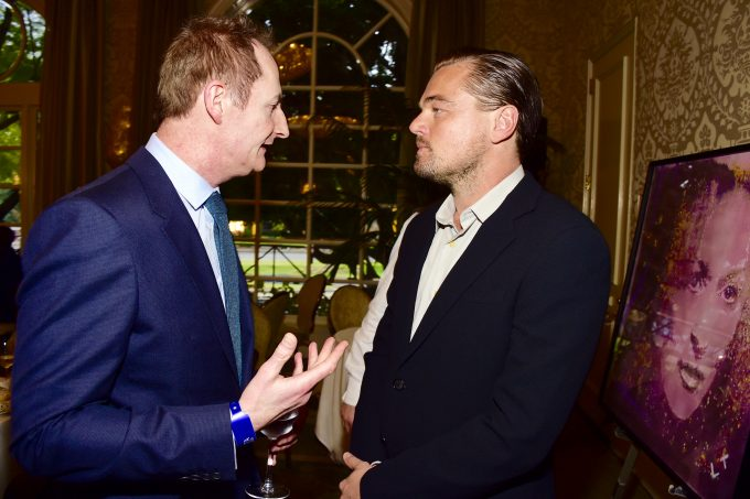 Leo DiCaprio attends the BAFTA Los Angeles Awards Season Tea at Four Seasons Hotel Los Angeles at Beverly Hills on January 9, 2016 in Los Angeles, California.